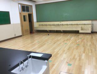 北白川小学校改装工事