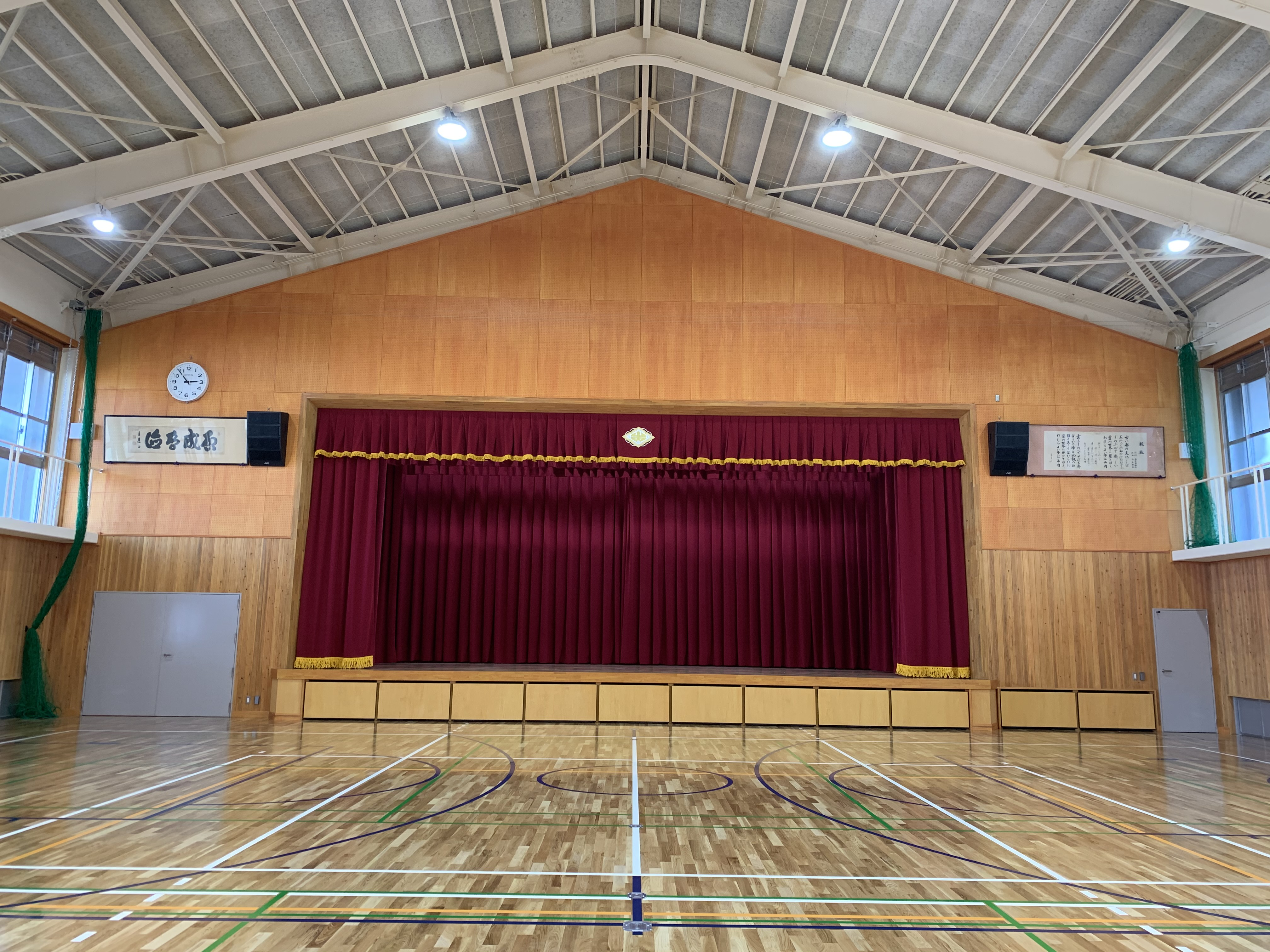 京都市立山ノ内小学校 体育館防災機能強化等リニューアル工事