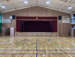 京都市立金閣小学校 体育館整備工事